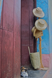 Hat shop in Trinidad