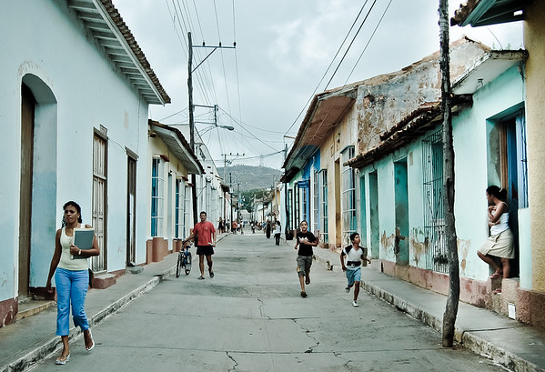 Street life, Trinidad