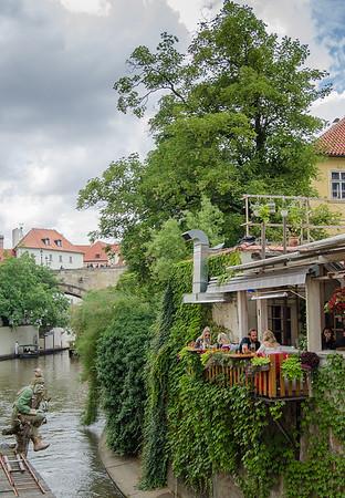 Prague is full of romantic corners
