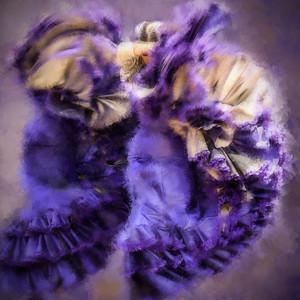 Flamenco purple