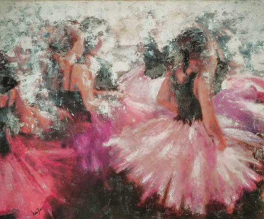 Curtain Call 33x40in