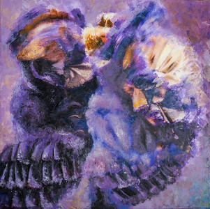 Flamenco Purple 30x30in