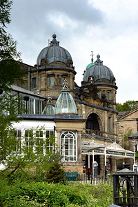 Buxton Opera House Through The Gardens
