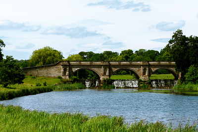 Bridge at Kedleston Hall