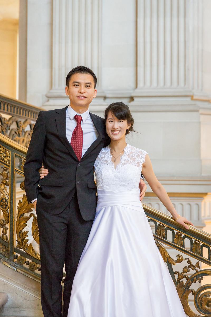 Derek & Alice at City Hall