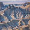 Diffuse Sunrise, Utah Badlands