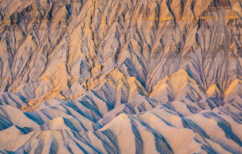 Mesa Folds, Early Morning Light