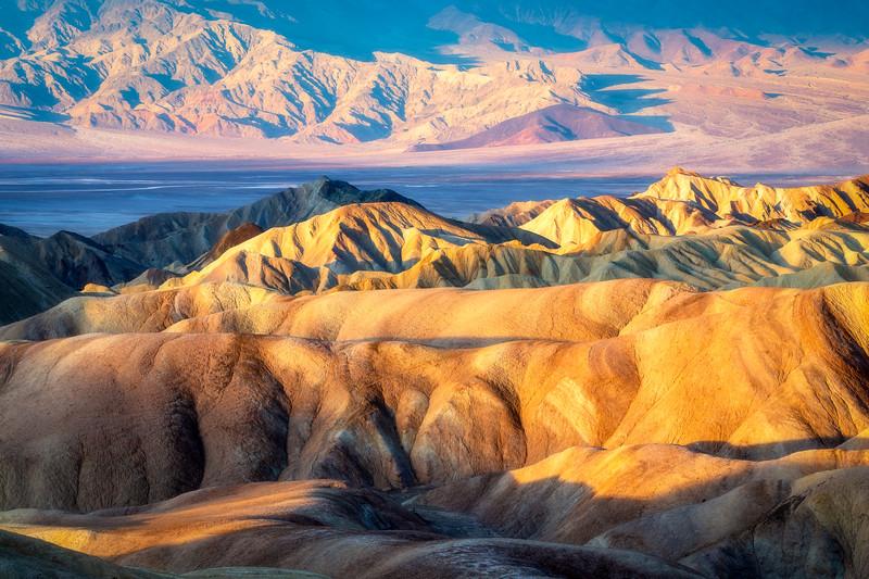 Rainbow Desert Colors, Zabriskie Point