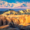 Rainbow Desert Colors, Zabriskie Point