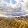 Zabriskie Point Badlands Sunrise Panorama