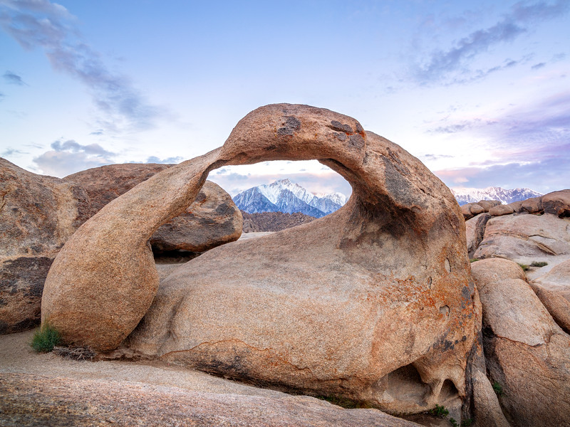 Mobius Arch, Alabama Hills Sunrise
