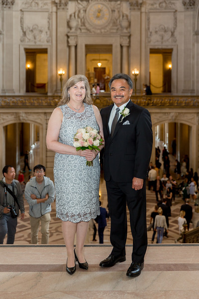 Desi & Kathy SF City Hall