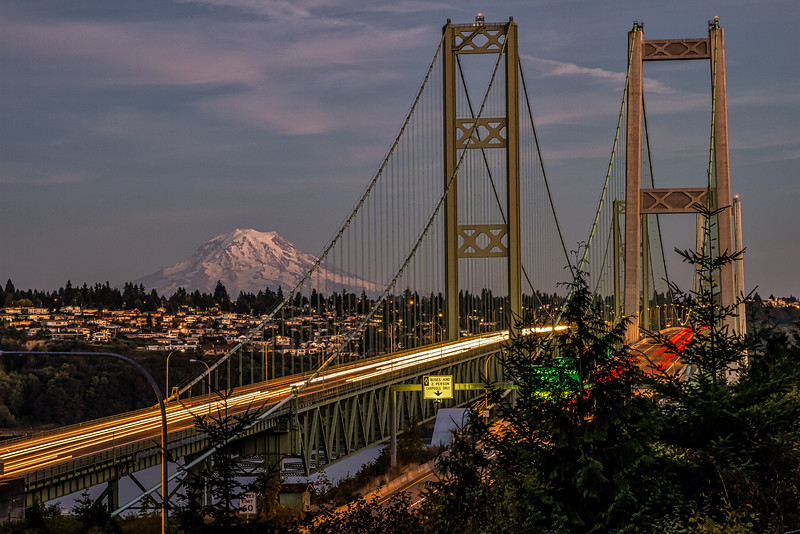 Narrows Bridge - Tacoma, Washington