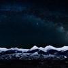 Beaverhead Mountains Milky Way Digital Art