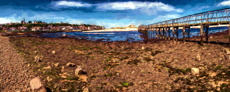 Lossiemouth East Footbridge 30x12