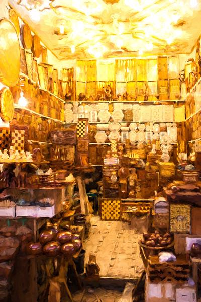 marrakech market stall