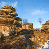 Brimham Rocks Painting