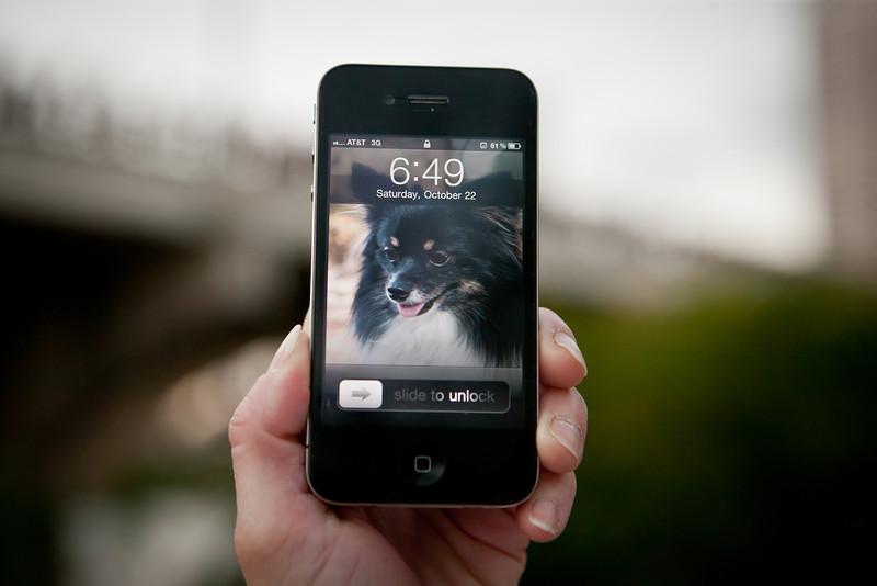 An Iphone Frame