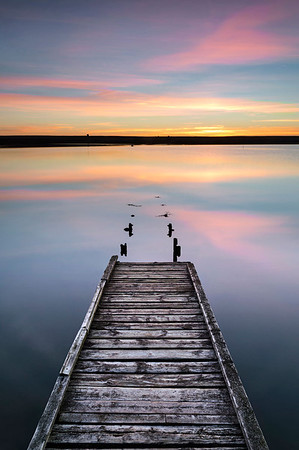 The Old Jetty on Fleet Lagoon