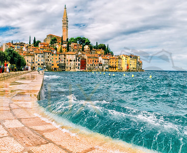 Splashing Wave | Long Exposure | Rovinj | Croatia | Hrvatska | Europe