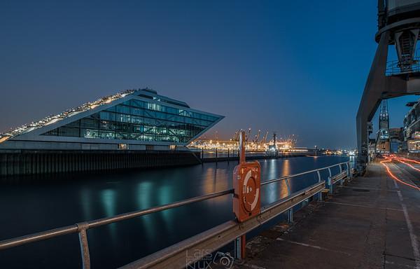 Night in Hamburg Germany