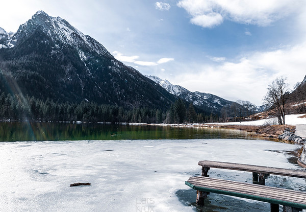 Winter is going at Lake Hintersee bei Ramsau | Germany | Europe