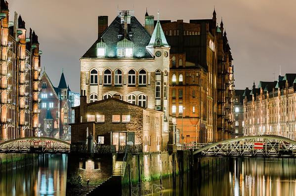 Hafencity | Speicherstadt | Wasserschloss | Hamburg | Germany| Europe
