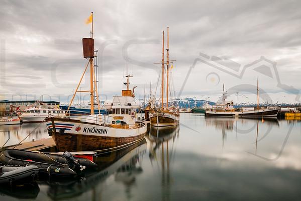 Whalewatching Boats | Akureyri | Iceland | Europe
