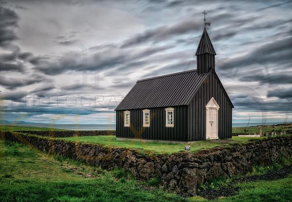 Abandoned Black Church | Iceland | Europe