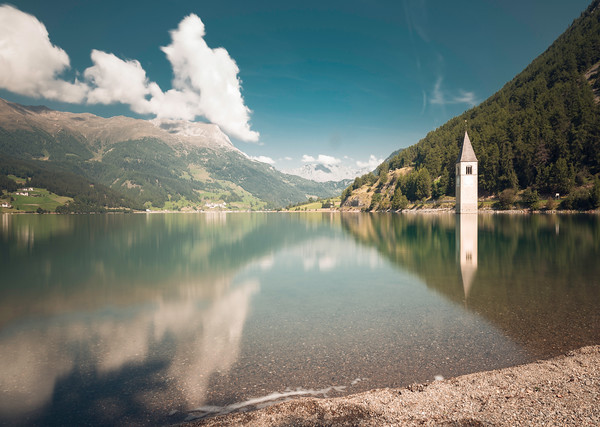 Reschensee | South Tyrol | Italy | Europe