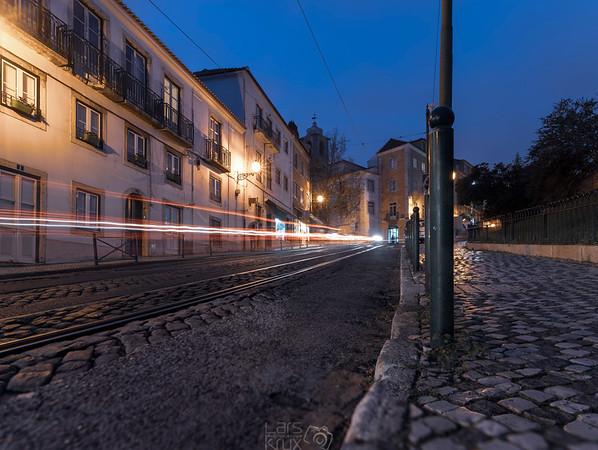 Tram 28, Long Exposure   Lisbon   Portugal   Europe