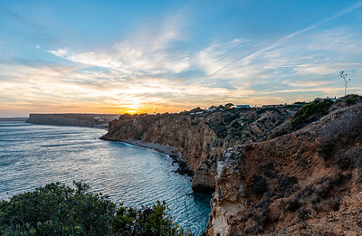 Sunset at the Cliff Coast of Lagos | Algarve | Portugal | Europe