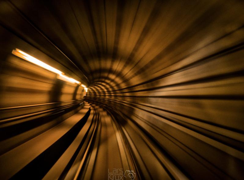 In The Driver's Seat | Metro Train | Copenhagen | Denmark | Europe