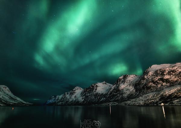 Aurora Borealis | Fjord | Tromsö | Norway | Europe