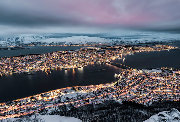 Panorama View | Night Photography | Tromsö | Norway | Europe