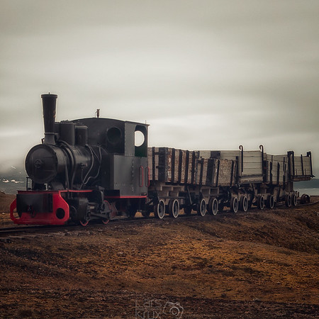 Ancient Coal Train | Ny Alesund | Arctic | Spitsbergen | Norway | Europe