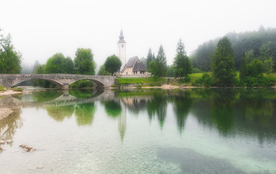 Mystical atmosphere | Bled | Slovenia | Europe