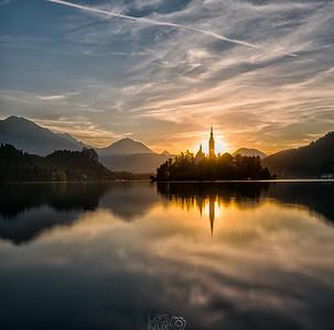 Sunrise | Lake Bled | Slovenia | Europe