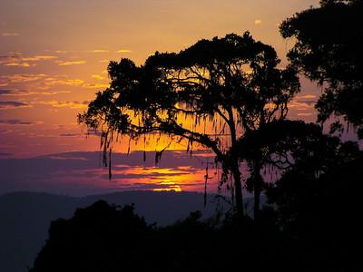 Sunrise Over Crater