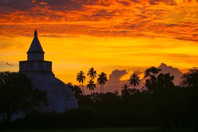 Sunset at Yatala Wehera