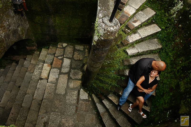 Nigel and Roxanne engagement Shoot