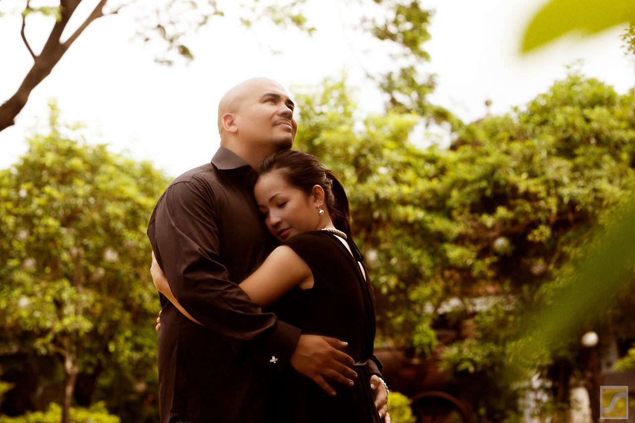 Nigel and Roxanne engagement Shoot<br /> Fort Santiago, Intramuros <br /> City of Manila<br /> Philippines