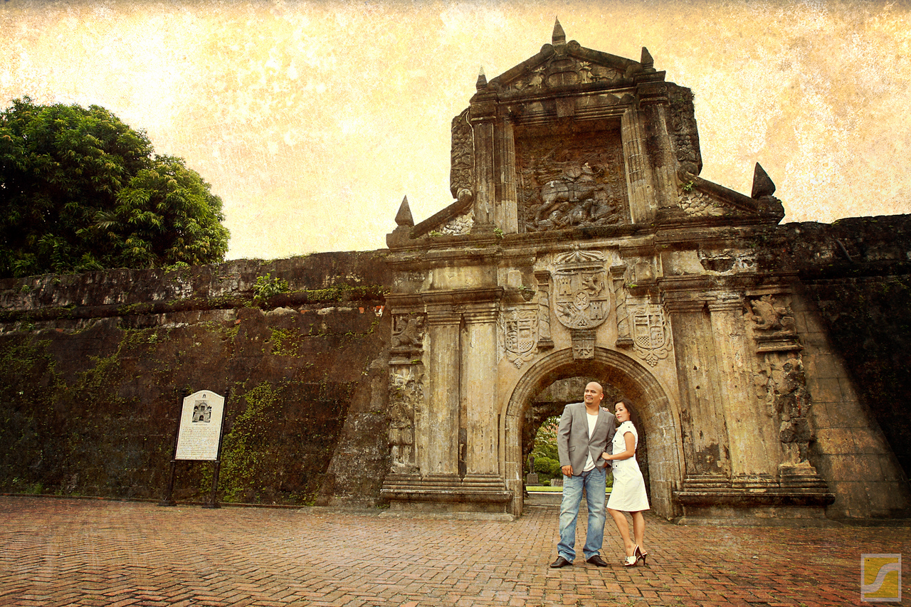 Fort Santiago<br /> Intramuros, Manila <br /> Engagement shoot