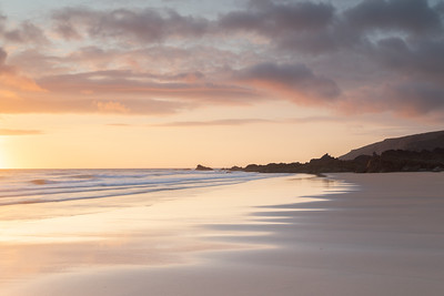 Sandymouth sunset
