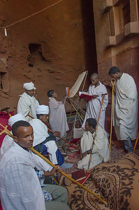 Afternoon rituals, Lalibela