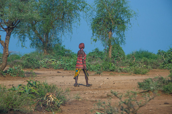 Hammer girl (Tribes of Omo Valley)