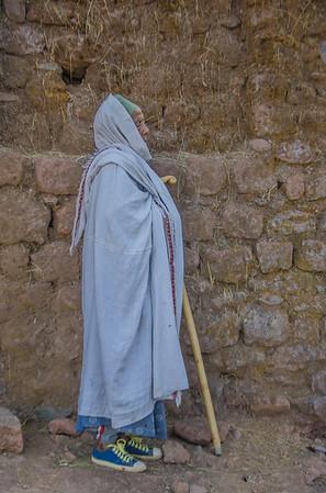 Elder in the churces of Lalibela