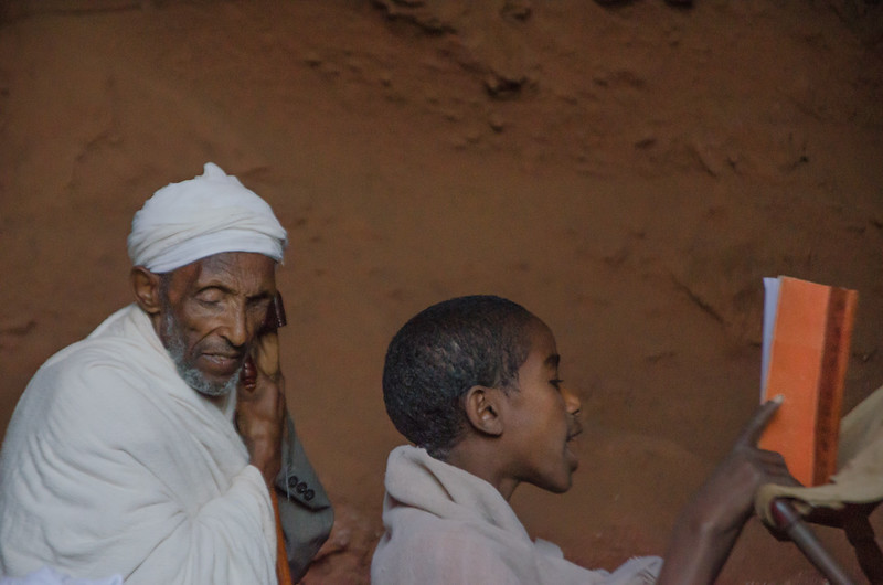 A bible student and his elder teacher