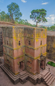 Bet Giyorgis rock-hewn church, Lalibela