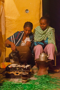 Preparing the best coffee in the world, Addis Ababa